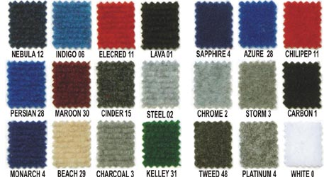 Velcro Carpet Swatches